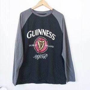 Guiness Raglan Long Sleeve T-shirt